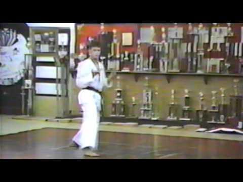 Kevin Hudson 3rd Degree Black Belt Test Martial Arts Shotokan Kata