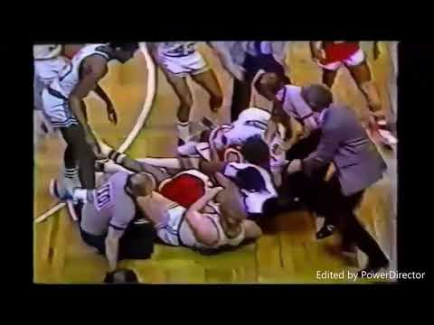 TOP 5 OLD SCHOOL BASKETBALL FIGHTS EVER !!