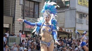 Asakusa Samba Carnival 2018 Sony FDR-AX55で向かって右側から撮りまし...