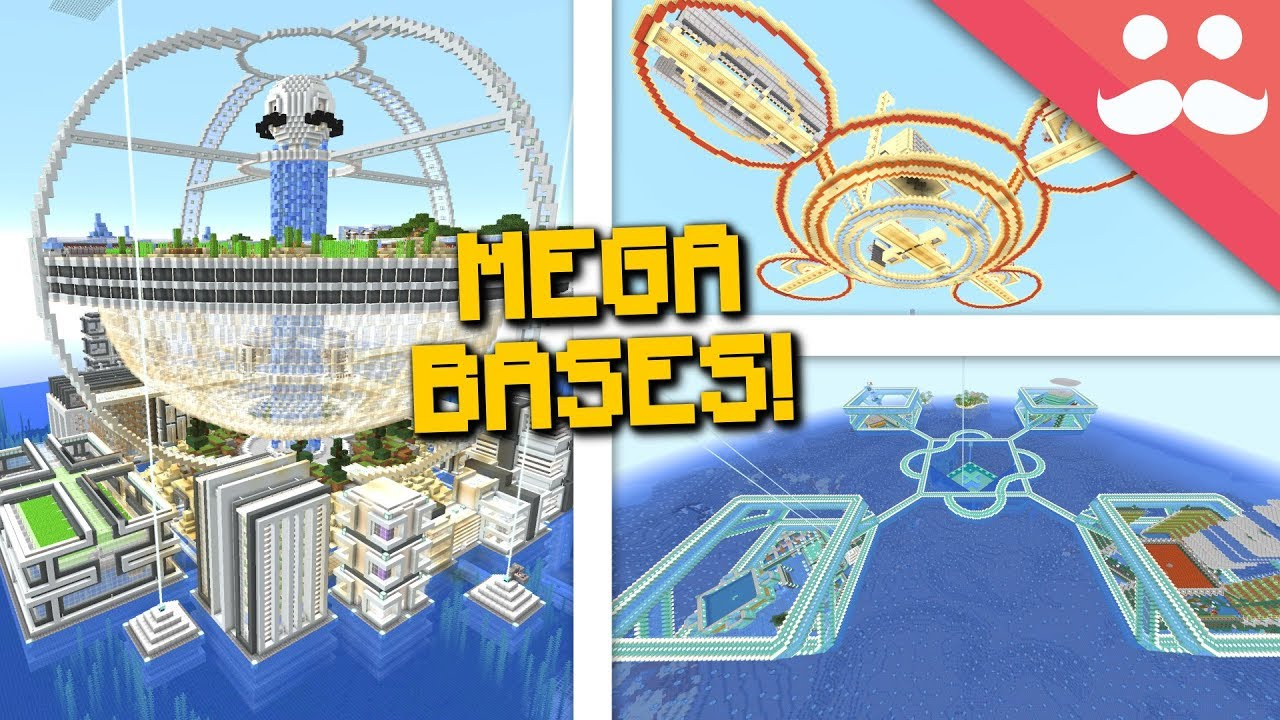 How To Build Epic Bases In Survival Minecraft Youtube