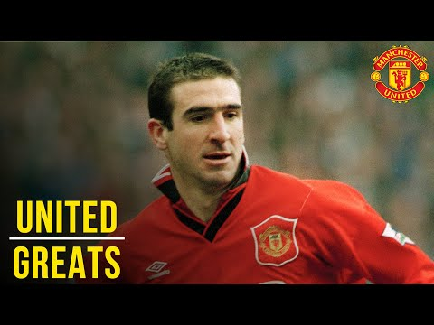 Eric Cantona - Manchester United Greats