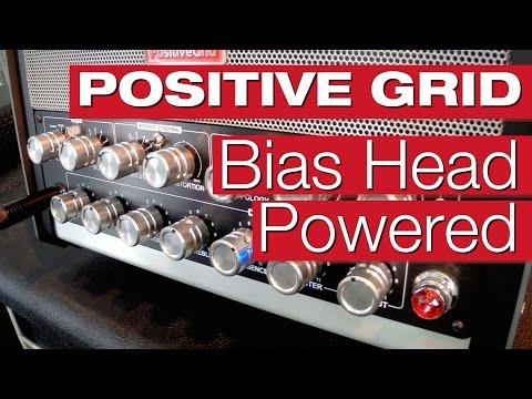 Positive Grid Bias Head Powered Modeling-Verstärker E-Gitarren-Review von session