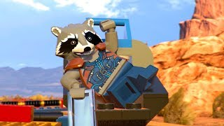 LEGO Marvel Super Heroes 2 Rescue Rocket Raccoon & Groot On The Circus Train