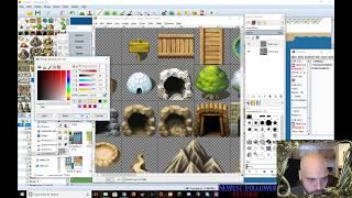 RPG Maker MV - Game Development Livestream 12