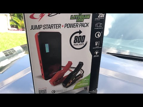 How to jump start fast your car with a Schumacher portable battery charger