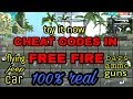 cheat codes in totally free fire v1.17.3