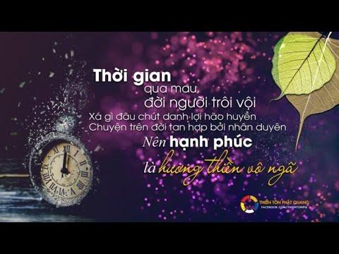 Triết lý về thời gian - TT. Thích Chân Quang