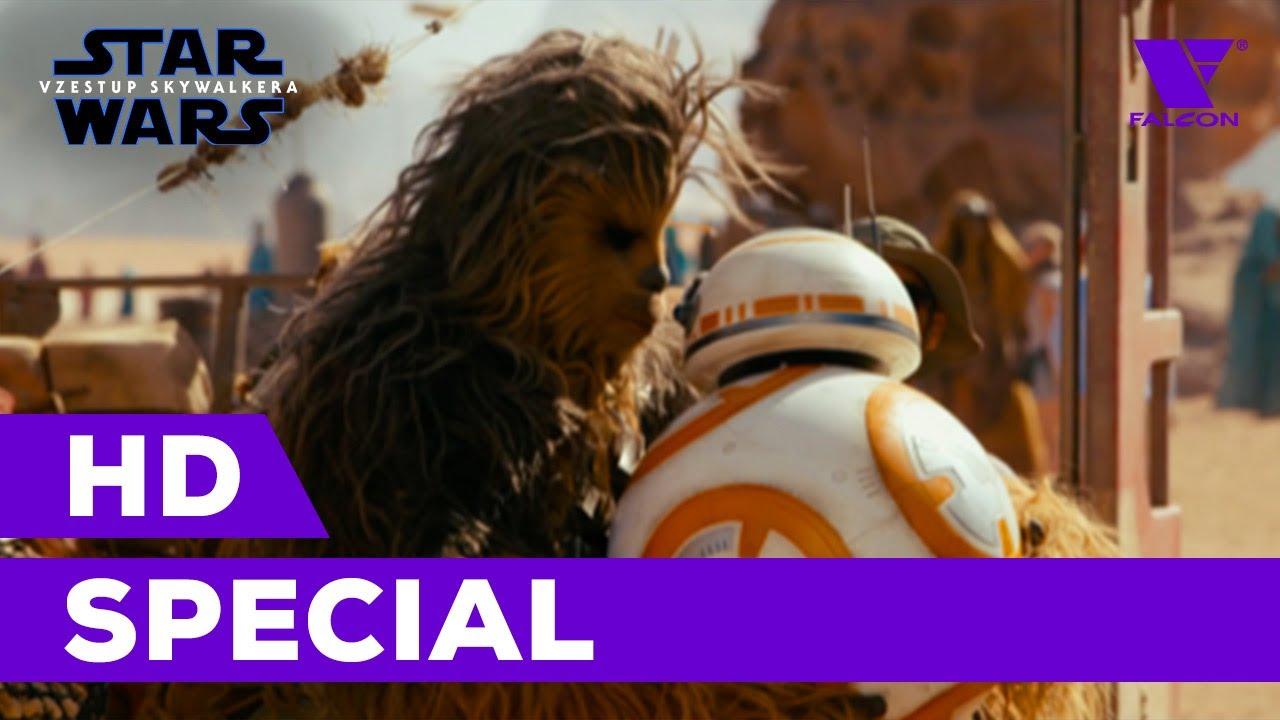 Star Wars: Vzestup Skywalkera (2019) HD Special | Přátelství SW | CZ titulky