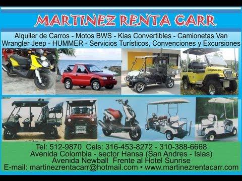 alquiler de carros en san andres islas colombia  YouTube