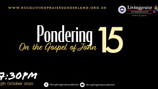 Livingpraise Weekly Bible Study // PONDERING ON THE GOSPEL OF JOHN 15