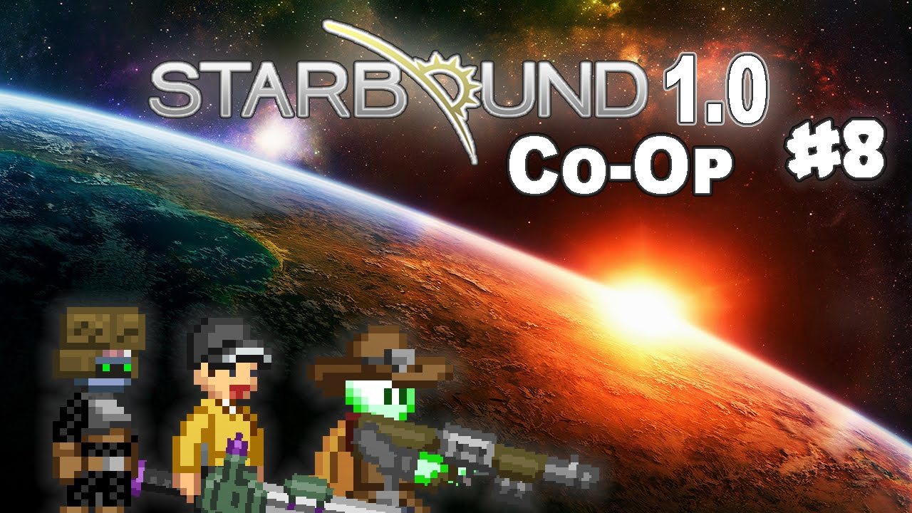 Starbound 1 0 Co Op 8 Avali Substitution Youtube