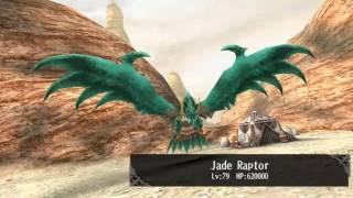 Toram Staff fu Vs Jade Raptor