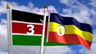 Kenya  Vs Ethiopia 3 - 0 Gaols Highlights 14th Oct 2018 mp4 1080p HD