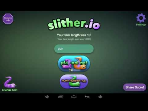 Slither.io: as michocas Lokas - Giuh