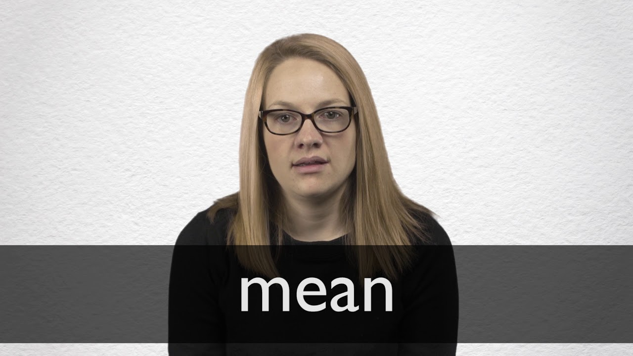 "Hindi Translation of ""mean"" 