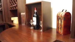 Pop Up Lift In A Wine Cellar Using A Firgelli Column Lift
