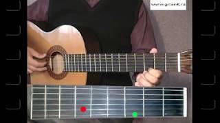 Как играть на гитаре - Титаник (Простая версия)