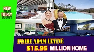 Video Inside Adam Levine $15.95 million home download MP3, 3GP, MP4, WEBM, AVI, FLV November 2017