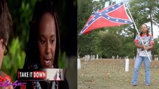 Black supporter of the Confederate Flag Blames Blacks For Slavery + Bree Newsome update