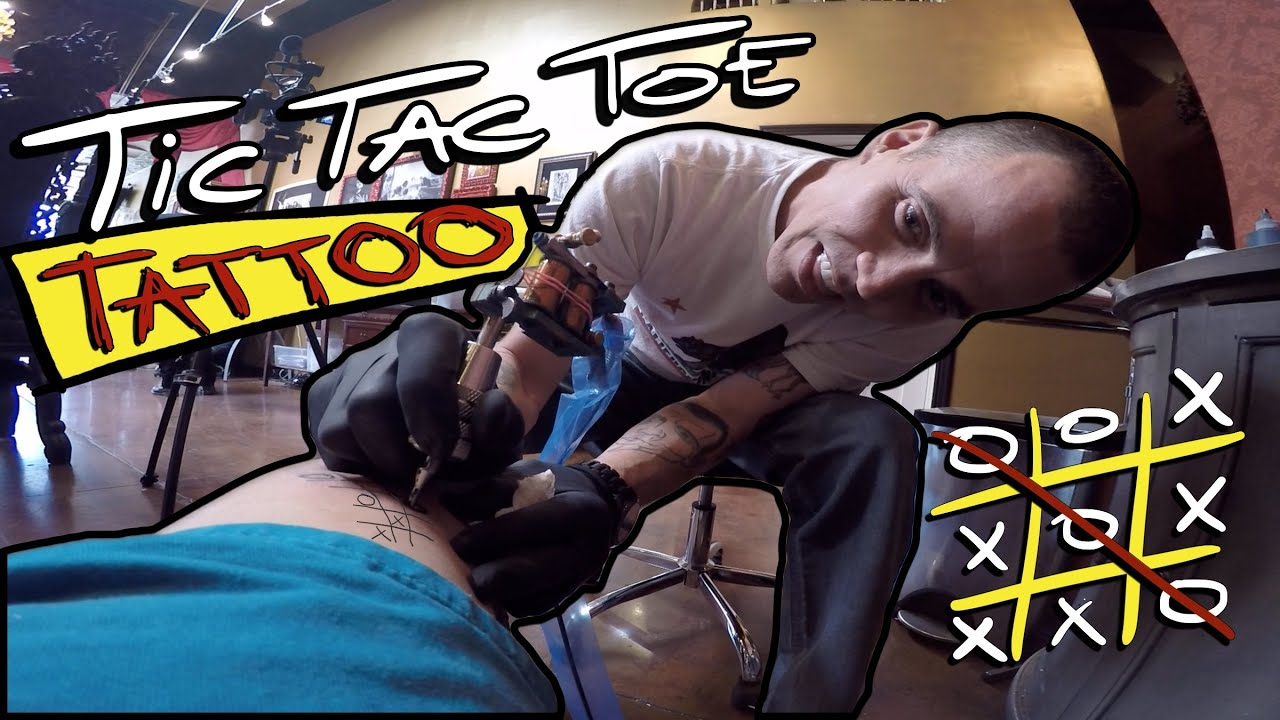 Tic tac toe tattoo ft steve o youtube for Steve o tattoo removal