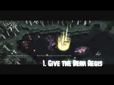 DotA 6 69b bug  Có thể triệu hồi 2 linh hồn gấu   Kinh nghiệm   Replay   Game8 vn