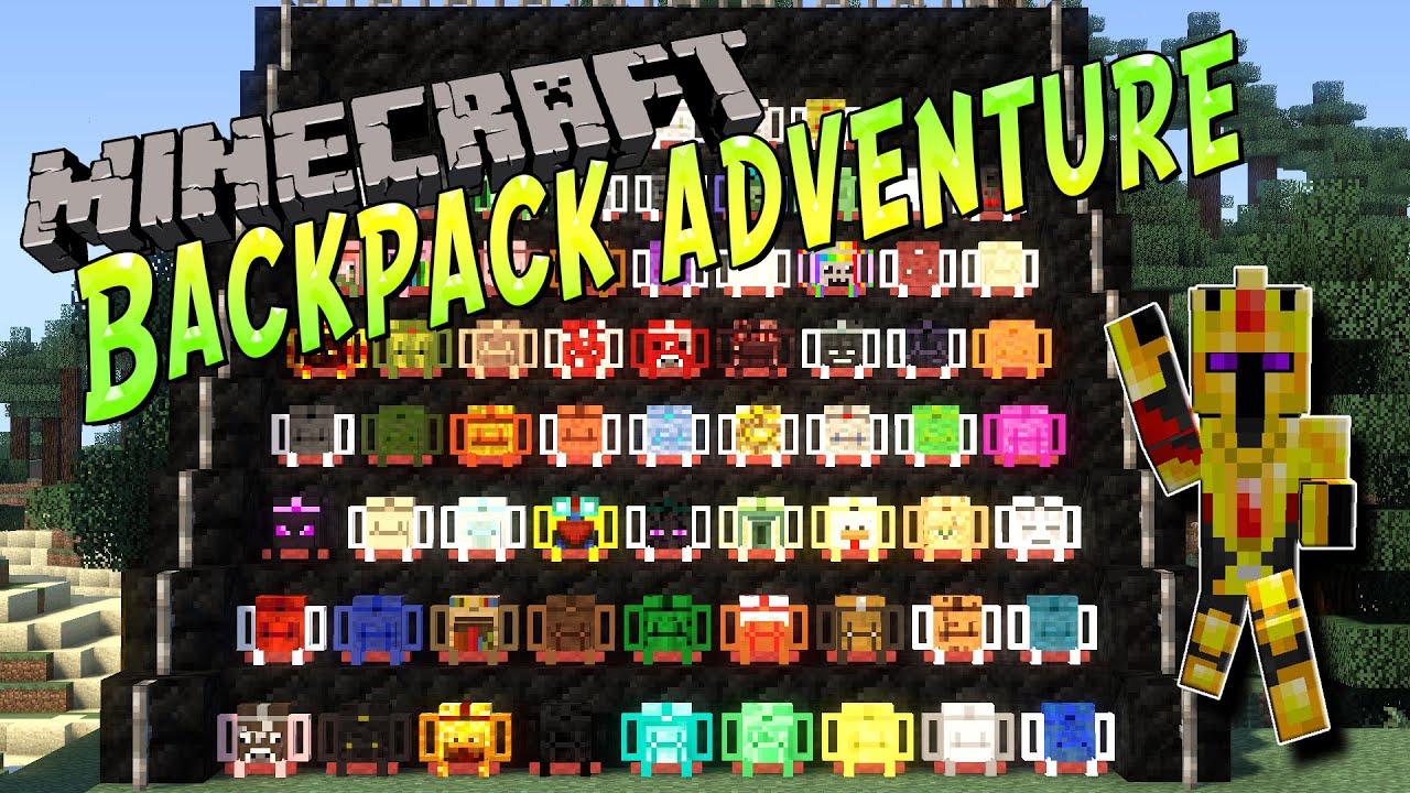 Minecraft 1.7.10 мод на рюкзаки рюкзаки в санкт-пербурге
