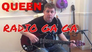Radio Ga Ga - Queen - Guitar Tutorial