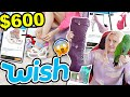 $600 WISH SHOE HAUL AND TRY ON 2021 | BUYING SHOES FROM WISH!!!