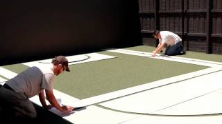 Suburban Line Marking - Home Basketball Court