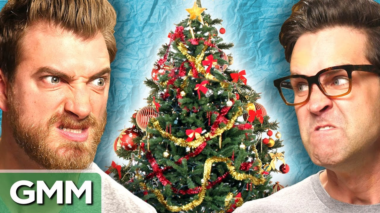tree decorating face off youtube