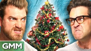 Repeat youtube video Tree Decorating Face Off