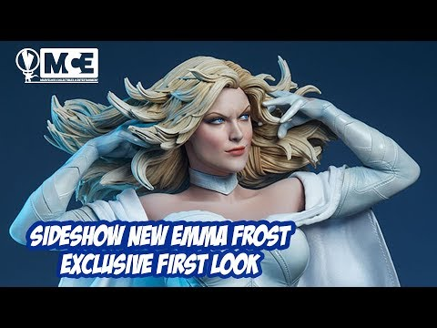 Side Emma Frost Premium Format Figure Exclusive First Look!