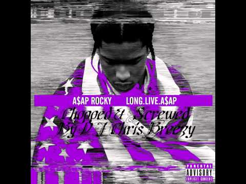 Ghetto Symphony- A$AP Rocky feat Gunplay & A$AP Ferg (Chopped & Screwed by DJ Chris Breezy)