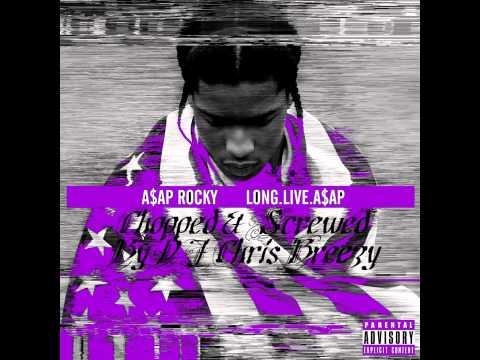 Ghetto Symphony- A$AP Rocky feat Gunplay & A$AP Ferg (Chopped & Screwed by DJ Chris Breezy)