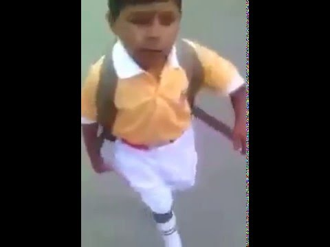 child singing ranjit bawa's song Jean2 *MUST WATCH*