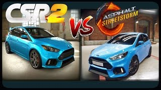 CSR Racing 2 vs Asphalt Street Storm Racing