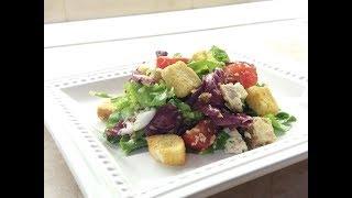 Летний салат с курицей / Легкий летний салат без майонеза / Класний свіжий салат з курки
