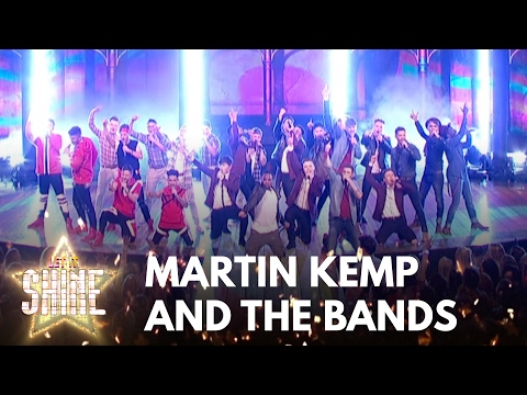 Martin Kemp & the final five bands perform - Let It Shine - BBC One