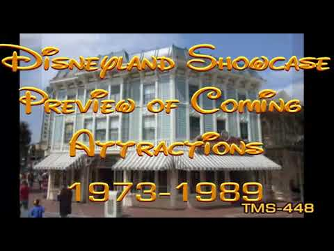 Youtube Disneyland Showcase Preview of Coming Attractions