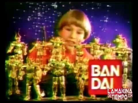 Caballeros del Zodiaco de BANDAI Comercial de Tv  90´s