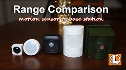 Range Comparison - WyzeSense, Kami Sensors, Ring Motion Sensor and Guardline Driveway Alarm