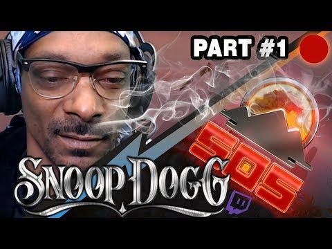 Snoop Dogg twitch STREAM COMMENT SOS PART 1 #SOS GAME 1 [24.01.2018] #SNOOPDOGG SURVIVE, ESCAPE!