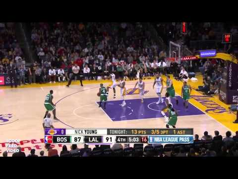 Boston Celtics vs LA Lakers - Full Game Highlights | February 22, 2015 | NBA 2014-15 Season