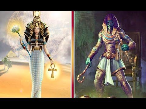 DIOSES EGIPCIOS, los más IMPRESIONANTES