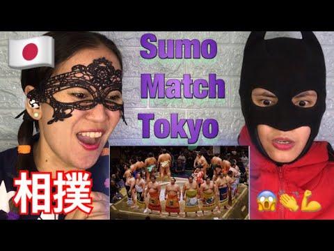 相撲 Sumo Match - Tokyo | 外国人の反応- Reaction Video 👏🇯🇵😱