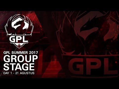 GPL Summer 2017 | Group Stage - Day 1