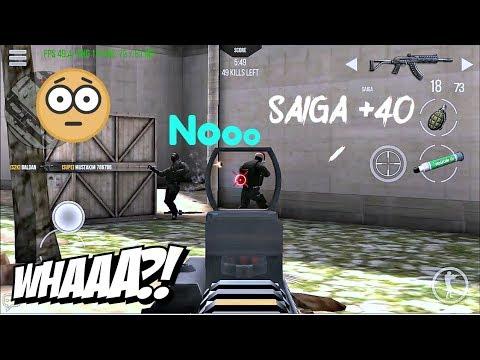 Saiga +40 Gameplay | 35 Kills | Modern Strike Online