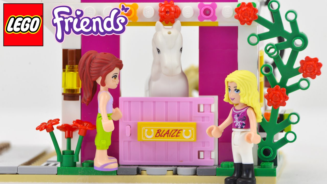 FIRST TIME ON A FARM - Lego Friends Sunshine Ranch ...