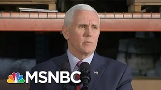 Mike Pence: Lying Or Incompetent On Michael Flynn | AM Joy | MSNBC