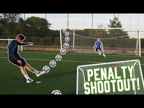 Penalty Challenge Vs Hashtag Academy Winner & Now Professional Footballer Scott Pollock!